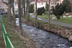 Jáchymovský potok před úpravou